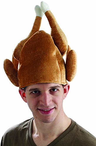 Forum Novelties Mens Roasted Turkey Hat