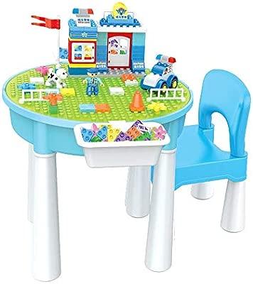 Edificio tabla de bloques del juego Mesa multifunción Mesa de ...