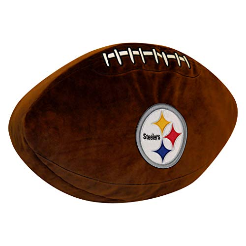 Officially Licensed NFL Pittsburgh Steelers 3D Sports Pillow