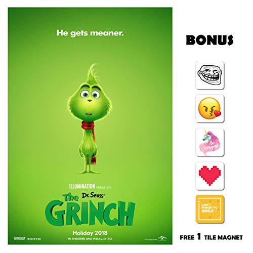 The Grinch Movie Poster 13 in x 19