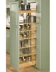 Rev A Shelf 448 Tp Series Wood Pullout Pantry 8 X 43 3 8
