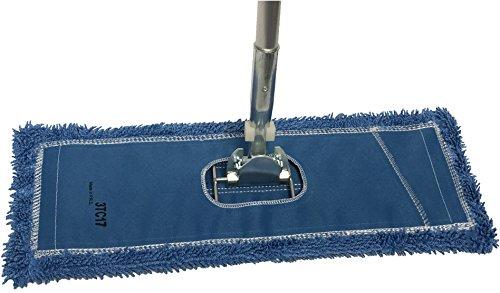 Dust Mop Kit 72'' : (1) 72'' Blue Microfiber Dust Mop, (1) 72'' Wire Dust Mop Frame & (1) Ergonomic Dust Mop Handle by Direct Mop Sales (Image #5)