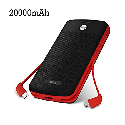 Amazon.com: Tonv Power Bank 10000mah Cargador portátil ...