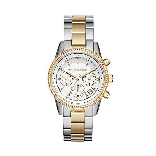 Ritz Silver-Tone Watch MK6474 ()