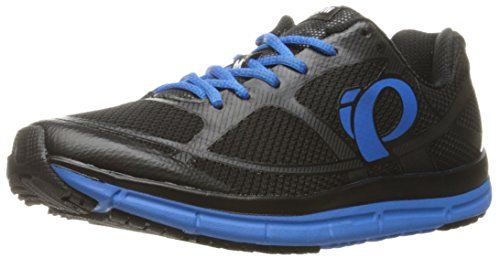Pearl iZUMi Men EM Road M 2 V3 Running Shoe Black/Fountain Blue