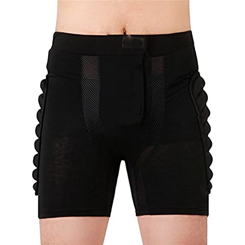 KOOLA Mens Womens Outdoor Sports Extreme Impact Shorts Roller Skating Snowboarding Skiing Hip Padded X-sports - Professional Roller Skating