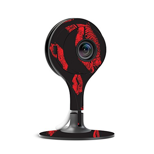 MightySkins Skin for Nest Cam Indoor Security Camera - Kiss Me | Protective, Durable, and Unique Vinyl Decal wrap Cover | Easy to Apply, Remove, and Change Styles | Made in The USA