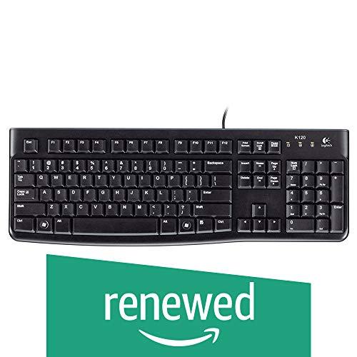(Renewed) Logitech K120 Wired USB Keyboard (Black) (B07BFJWVQJ) Amazon Price History, Amazon Price Tracker