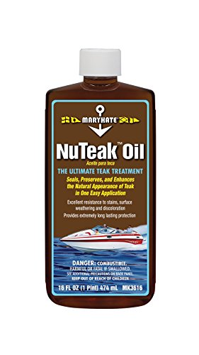 MaryKate Nu 1 Pint Teak Oil