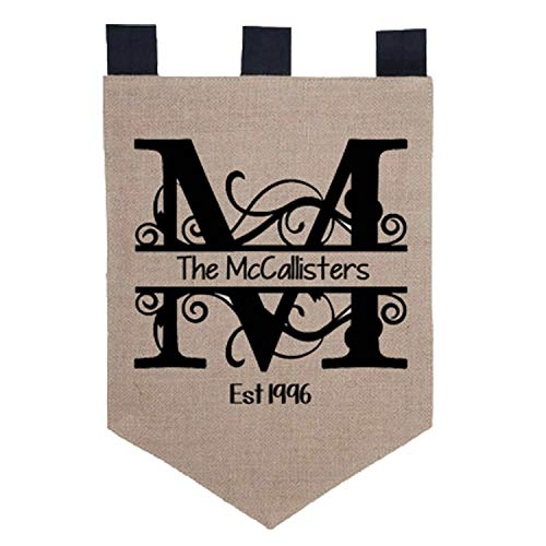 Key Your Spirit Personalized Burlap Garden Flag 18