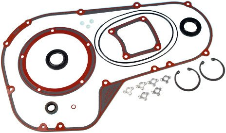 (James Gaskets Primary Gasket-Seal Kit Cover for Harley Davidson 1994-2006,  FLT, FXR, - One Size )