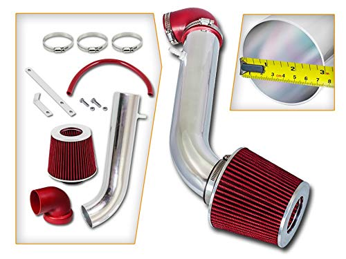 - Rtunes Racing Short Ram Air Intake Kit + Filter Combo RED For 95-99 Mitsubishi Eclipse 2.0L Non Turbo