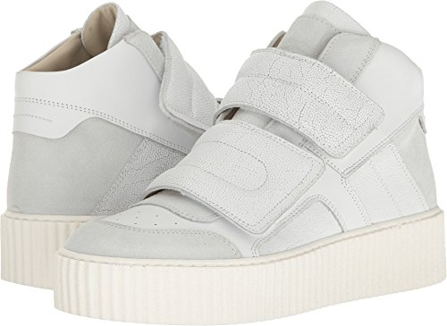 Maison Margiela MM6 Women's Platform Two Band Sneaker White 7 B(M) - White Margiela Maison