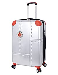 Trans-Canada Airlines Lockheed 28-Inch Expandable Spinner Luggage, Silver, Checked-Large