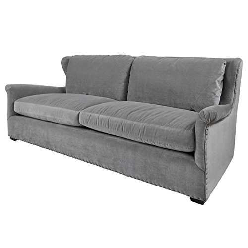 Beaumont Lane Upholstered Sofa in Gray