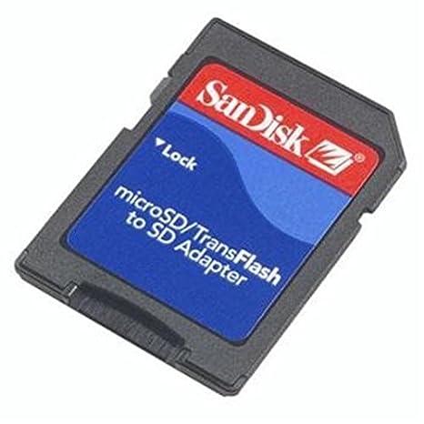 SanDisk Micro SD-SD - Adaptador para tarjetas de memoria ...