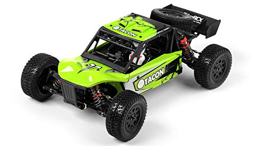1/14 Tacon Cavalry Desert Buggy Ready to Run RTR 2.4ghz Brushless RC Radio Remote Control Truck (Green) ()