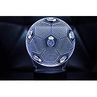 3D LAMPARAS Oficial Balon del Real Madrid Lámpara