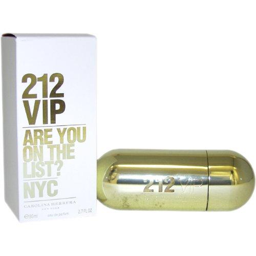 212 VIP par Carolina Herrera Eau De Parfum Spray for Women, 2,70 onces
