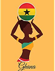 Ghana: Weekly Planner for the People of Ghana. 7.44 X 9.69 Inches. Extra Pages for Taking Notes, Making Appointments, and Creative Thoughts. Beautifully Crafted but Easily Carried in Purse, Backpack, or Briefcase. October 2019-December 2020