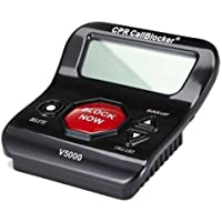 CPR V5000 Call Blocker - Block All Robocalls, Political Calls, Scam Calls, Unwanted Calls on Landline Phones. Block All Nuisance Calls At The Touch Of A Button using Caller ID