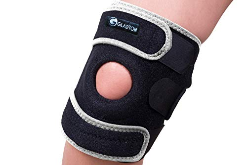 Gladton Large XL 2XL 3XL XXL XXXL Knee Brace Support for Running Meniscus Tear Arthritis ACL MCL Pain Sports. Open Patella Adjustable Stabilizer for Plus Size Big Large Legs Thighs Women Men. 3 Sizes