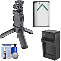 Sony VCT-STG1 Shooting Grip & Mini Tripod for AS50, AS200V, AS300, X1000V, X3000 Action Cams with NP-BX1 Battery + Charger + Kit