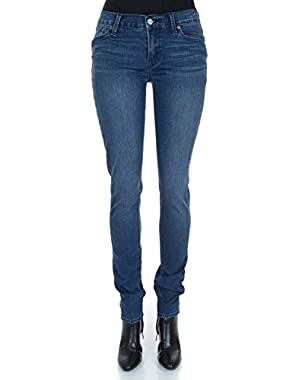 Women's Mid Rise Slim Fit Brooklyn Skinny Jean