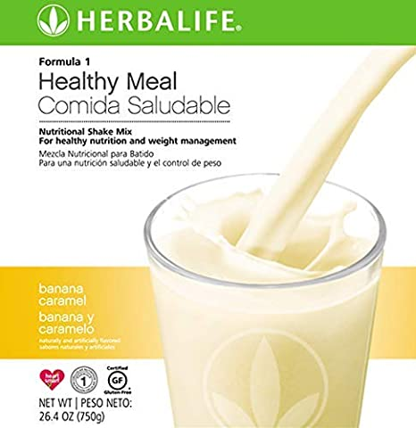 Amazon.com : Healthy Meal Nutritional Shake Mix Banana Caramel Flavor 750 g Weight Management Drink : Grocery & Gourmet Food