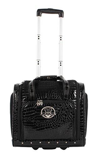 kathy-van-zeeland-15-croco-pvc-wheeled-under-seat-bag-15in-black