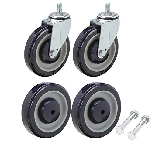 Shopping Cart Wheel and Caster Replacement Kit Including, used for sale  Delivered anywhere in USA