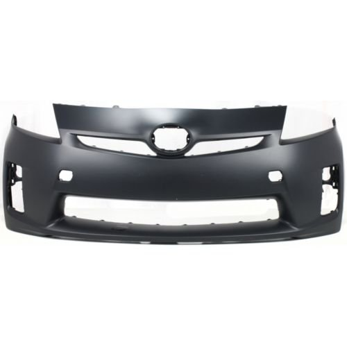 Perfect Fit Group REPT010314PQ – Prius Front Bumper Cover, Primed, Halogen Head Lamps, W/O Pre-Collision System – Capa