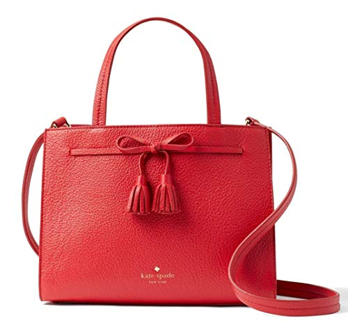Kate Spade New York Hayes Street Sam Leather Bag, Royal Red ()