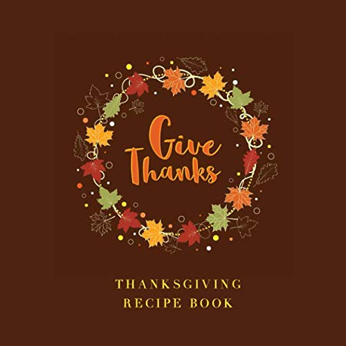 Thanksgiving Recipe Book by P Ridge, Creative Simple Books