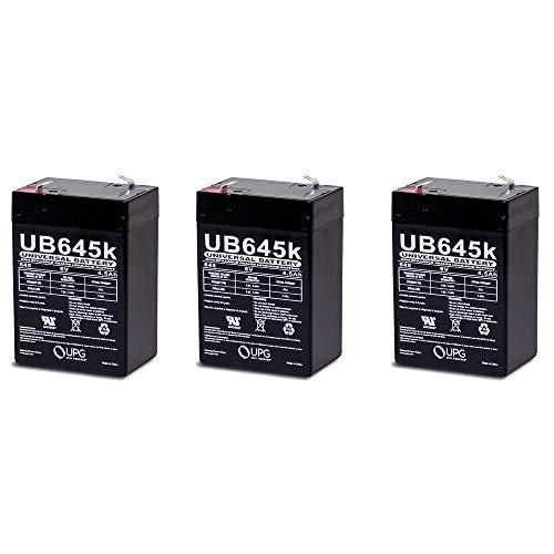 Universal Power Group 6V 4.5AH SLA Replacement Battery for N