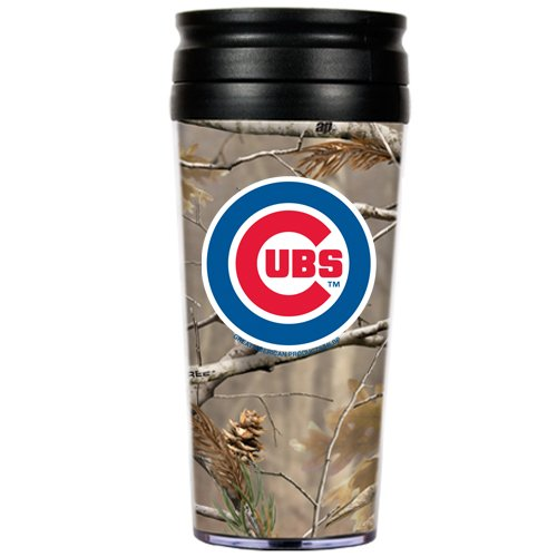 MLB Chicago Cubs 16-Ounce Open Field Acrylic Travel Tumbler