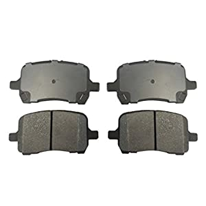 A-PADS Front Premium Ceramic Brake Pads For Chevrolet/Chevy COBALT SPORT 2008 / HHR 2006-2011 / MALIBU 06-2012 & Pontiac G5 2009 / G6 06-2010 - Complete FRONT 4 Piece Set - A8270D1160