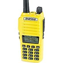 BaoFeng UV-82HP (YELLOW) High Power Dual Band Radio: 136-174mhz (VHF) 400-520mhz (UHF) Amateur (Ham) Portable Two-Way