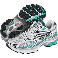 SAUCONY Women's ProGrid Hurricane 11 (White Silver Teal 5.5 M)