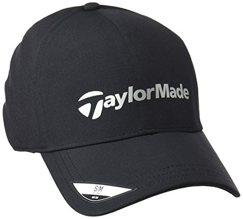 Storm Waterproof Cap (2015 TaylorMade Storm Water Resistant Stretch Fit Men's Golf Cap Black Large/XL)