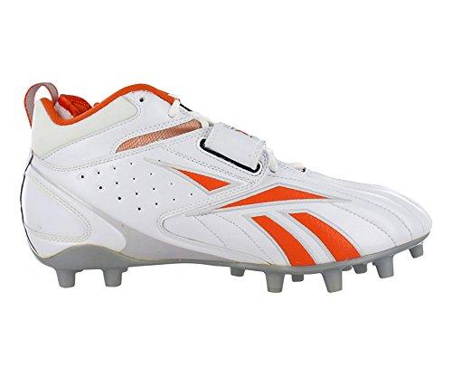 Reebok Pro Fullständig Blitz Rem Mp Mens Fotboll Knapar Vit Orange 10