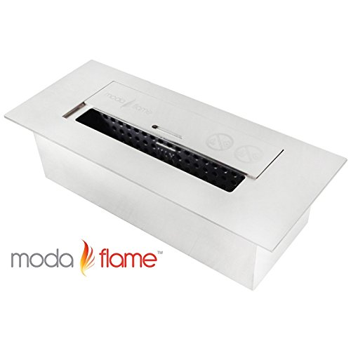 Best moda flame 12 ventless ethanol fireplace burner for Gel fuel fireplaces pros and cons