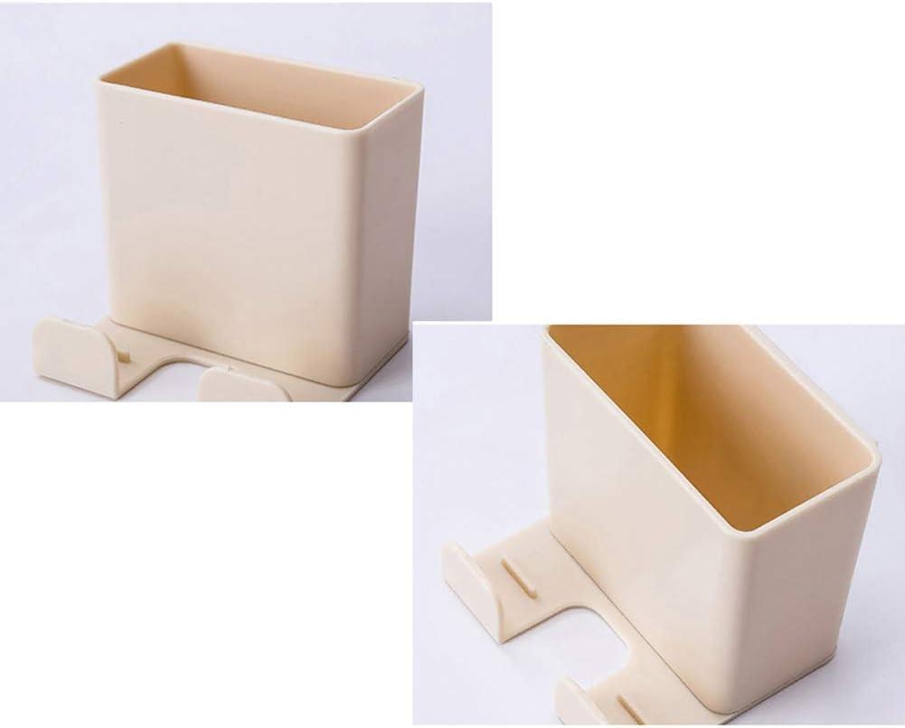 CAheadY Fernbedienung Wandhalterung Organizer Klimaanlage Handy-Aufbewahrungsbox White