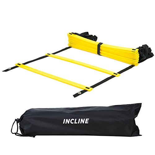 Incline Fit Training Agility Ladder with Carry -