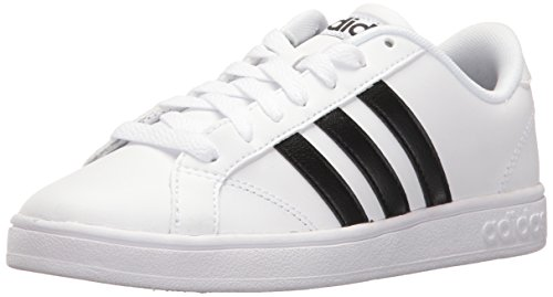adidas Men's Shoes | Baseline Fashion Sneakers, White/Black/White, (4.5 M US)