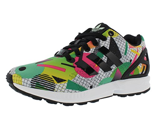 W Green Black Adidas Flux Size Zx Shoes White Women's qUxEw7x4
