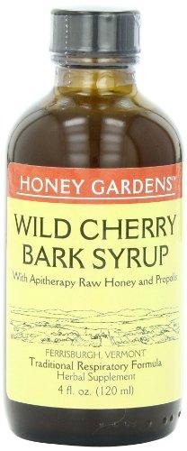 Мед сады Wild Cherry Кора Сироп, 4 унции