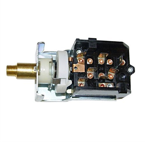 Jeep Parts Cj7 Headlight Switch - Rugged Ridge Jeep CJ Front HeadLight Head Light Switch 79-86