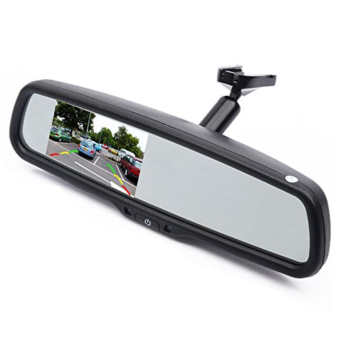 (Car Interior Replacement Rear View Mirror Built in 4.3
