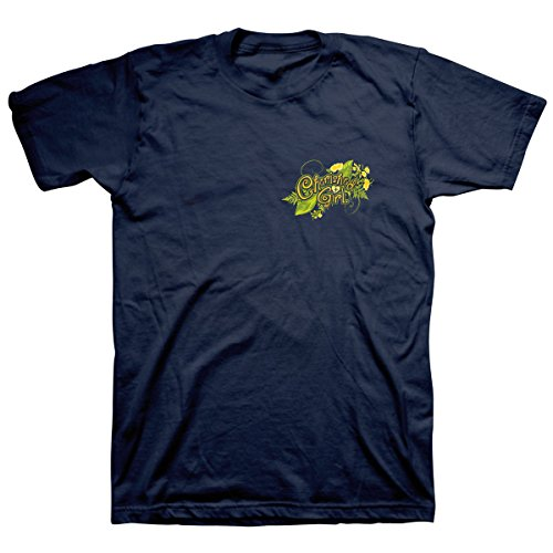 Cherished Girl Adult T-Shirt - Buttercup SM Womens Christian T-Shirt Navy